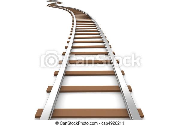 Railroad - csp4926211