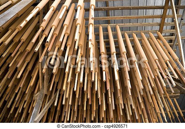 Hanging Joss Sticks - csp4926571