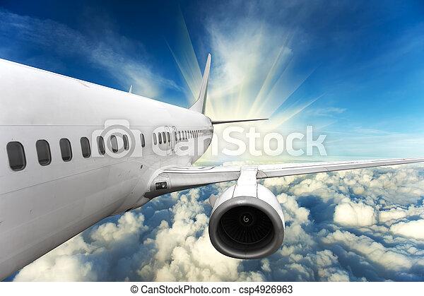 Airplane - csp4926963