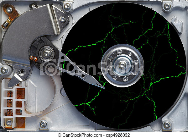 storm on the hard disc - fault - failure - csp4928032