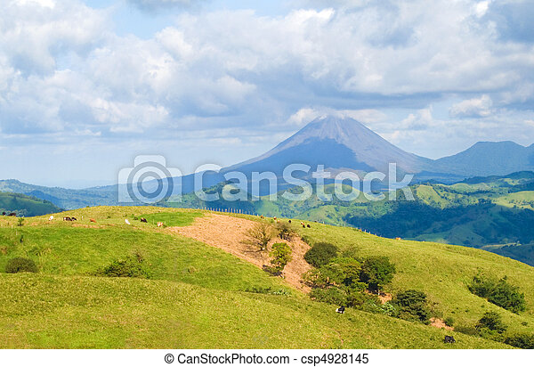 Costa Rica Landscape - csp4928145