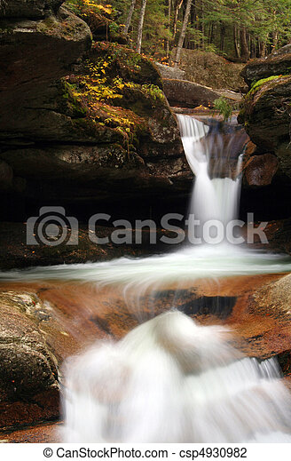 Woodland Waterfalls - csp4930982
