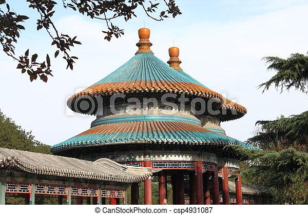Double-Circle Longevity Pavilion