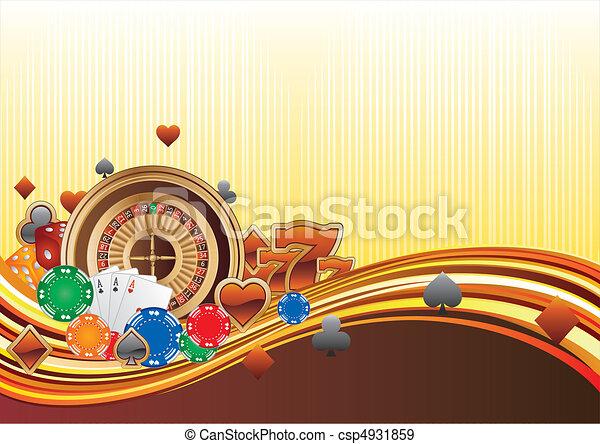 casino background - csp4931859