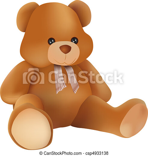 teddy bear - csp4933138