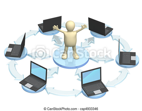 Internet - csp4933346