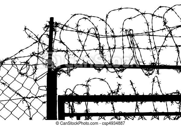 Prison Fence Graphic