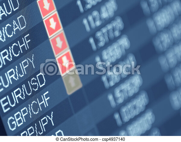 currency trading - csp4937140