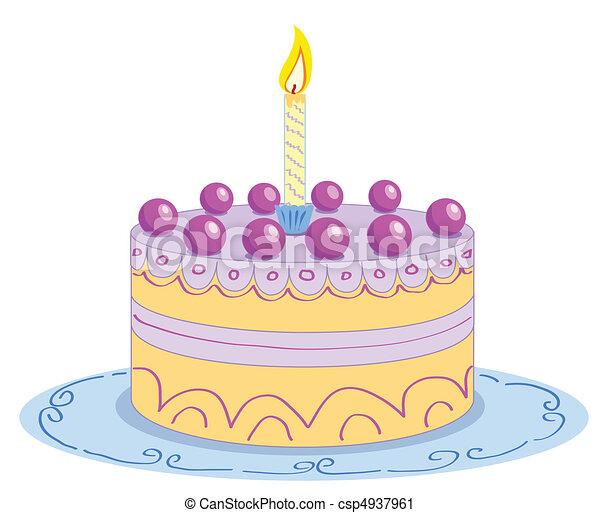 Рисунок торта фото