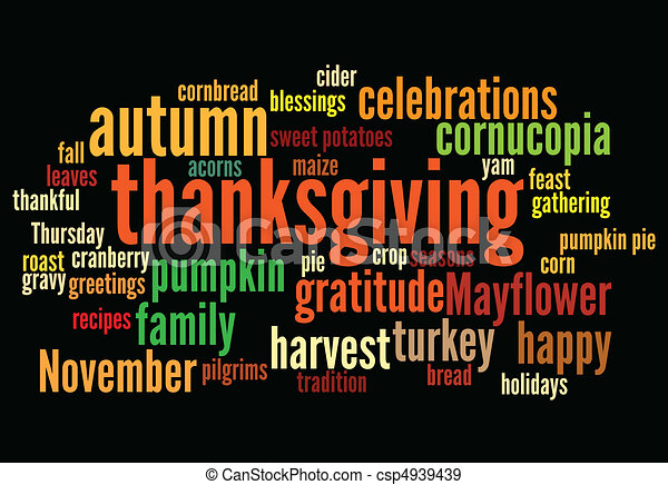 happy thanksgiving - csp4939439