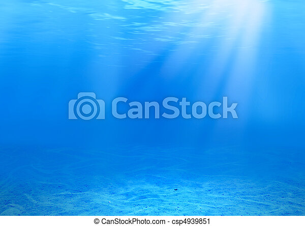 underwater background - csp4939851