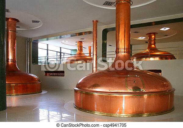 bohemian brewery - csp4941705