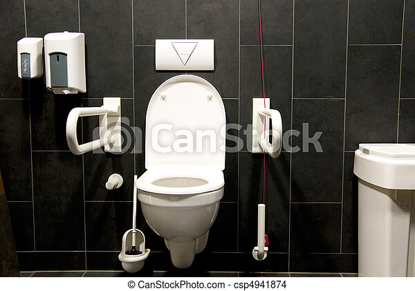 photo toilette handicap image images photo libre de droits photos sous licence. Black Bedroom Furniture Sets. Home Design Ideas