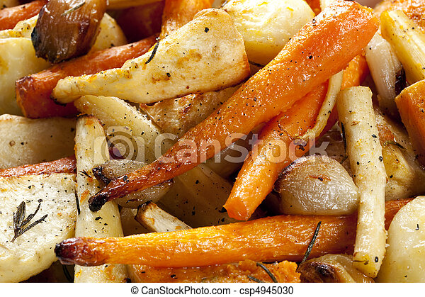 Roasted Root Vegetables - csp4945030