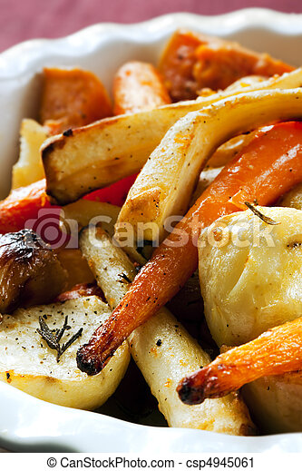 Roasted Vegetables - csp4945061