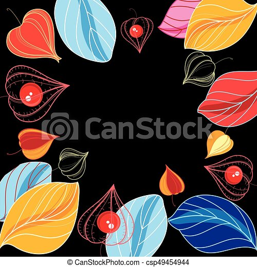 Autumn vector color background - csp49454944