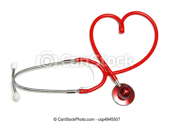Heart Shaped Stethoscope - csp4945507
