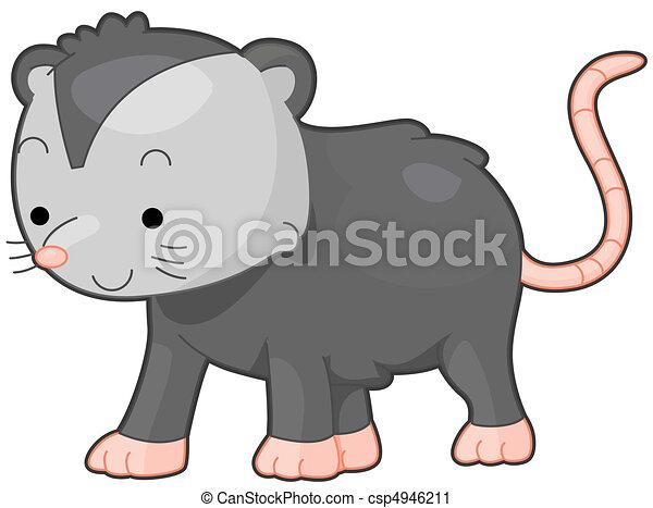 What Is a Possum Clip Art