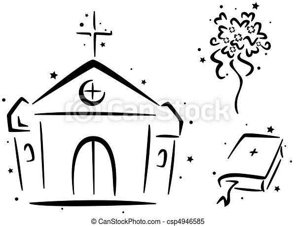 illustrations de stencil mariage mariage stencil caract riser a csp4946585. Black Bedroom Furniture Sets. Home Design Ideas