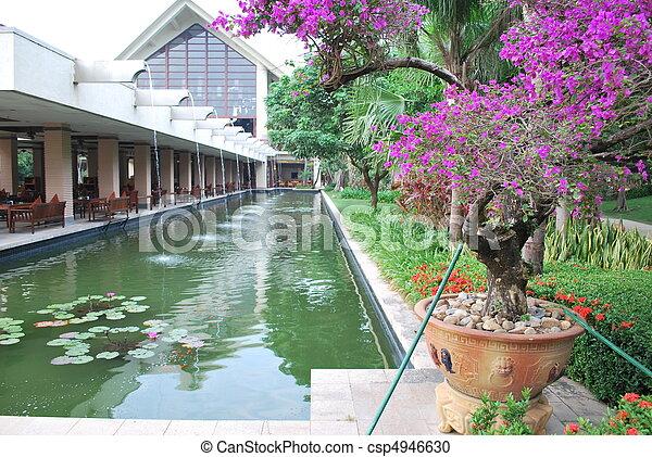 Appealing garden - csp4946630