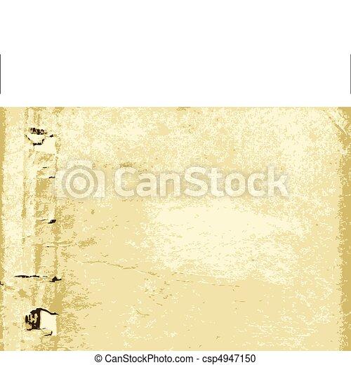 aging torn paper - csp4947150