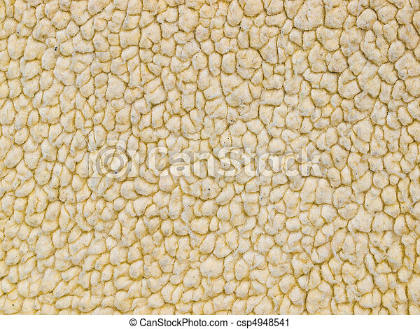 Full Frame Background of a Lambs Woolen Fabric