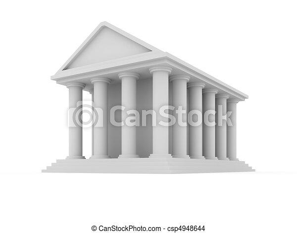 Financial building - csp4948644