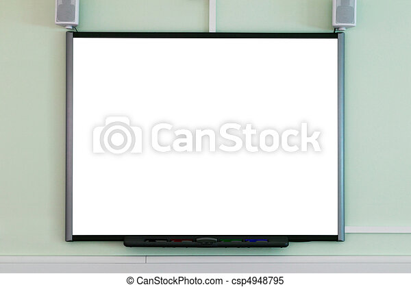 Interactive whiteboard - csp4948795