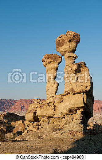 Rock formations in Argentina. - csp4949031