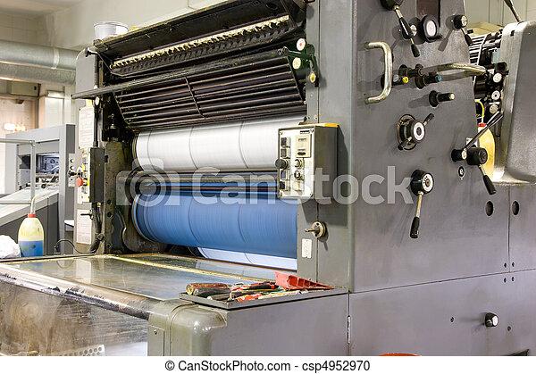 Printing Press - csp4952970