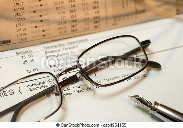 Banking Statement - csp4954155