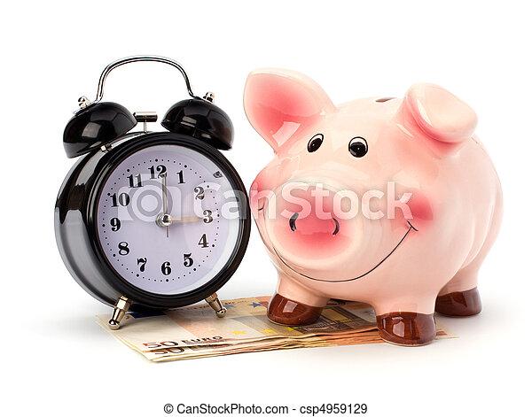 Money accumulation concept - csp4959129