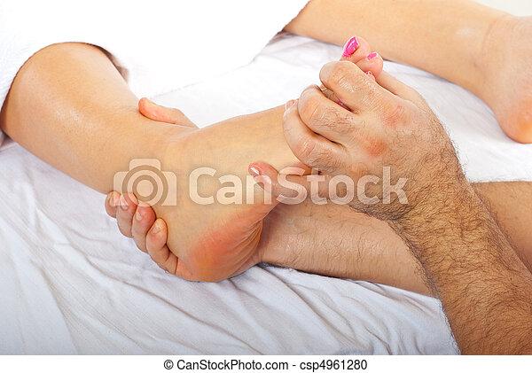 Orthopedic massage - csp4961280