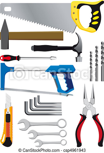 different set of hand tools - csp4961943
