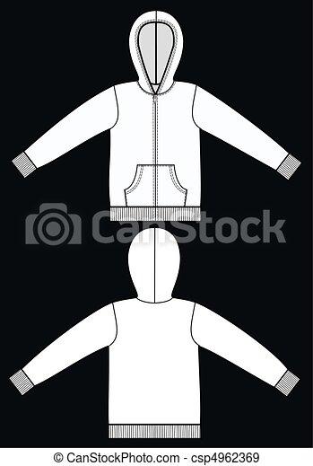 garment sketch - csp4962369