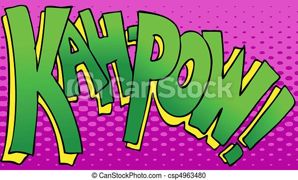 Kahpow Punch Sound - csp4963480
