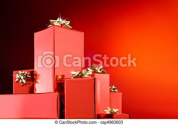 christmas gifts  - csp4963603
