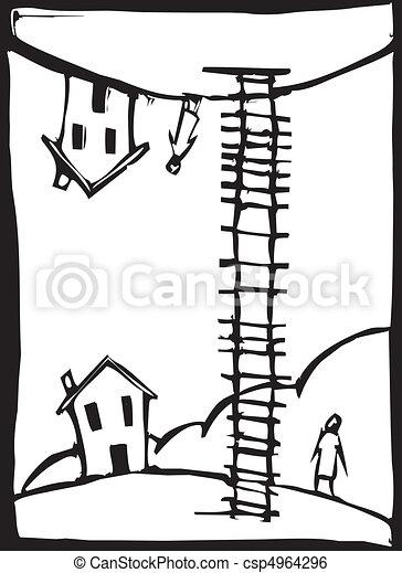 Ladder Up - csp4964296