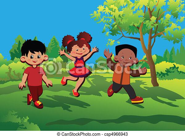 Children. - csp4966943