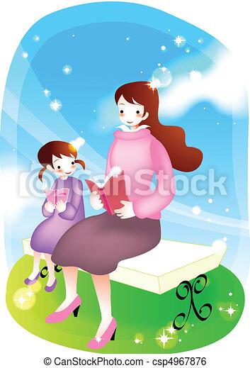 Parents and Teacher - csp4967876