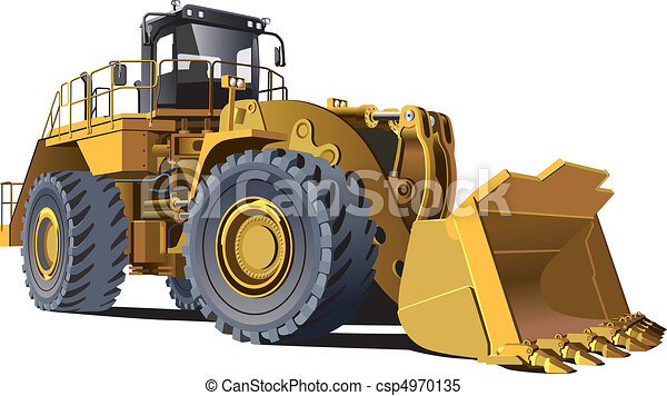 large wheel loader - csp4970135