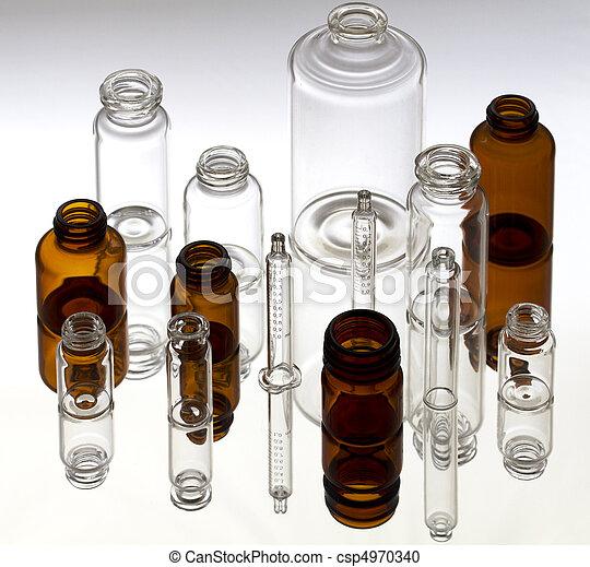 Pharmaceutical vials  - csp4970340