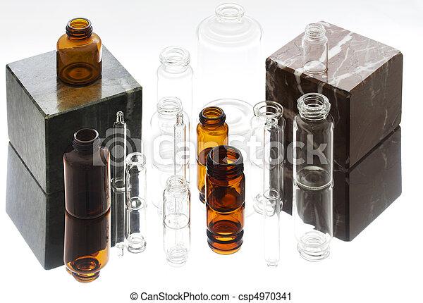 Pharmaceutical vials  - csp4970341