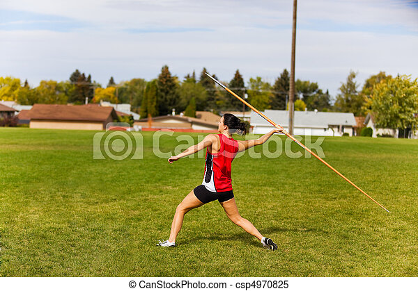 Javelin Throwing - csp4970825