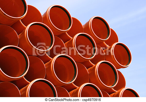 Sewer pipes - csp4970916