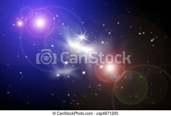 Stellar light in space - csp4971200