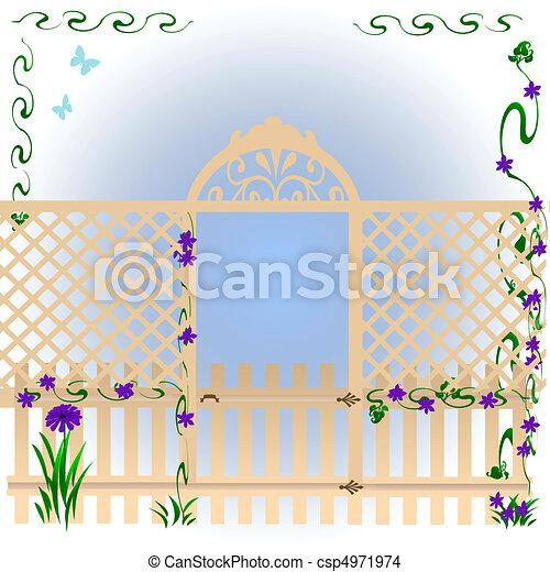 secret garden - csp4971974