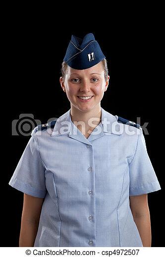 militär, flicka - csp4972507