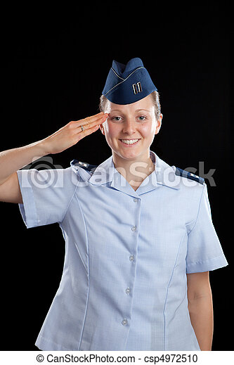 militär, flicka - csp4972510