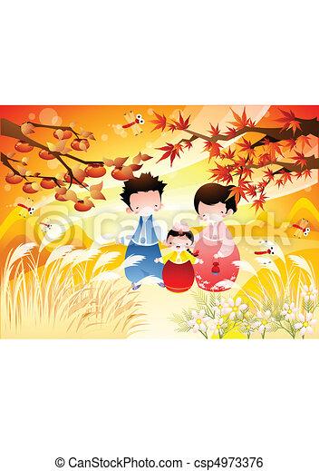 Autumn and Festival - csp4973376